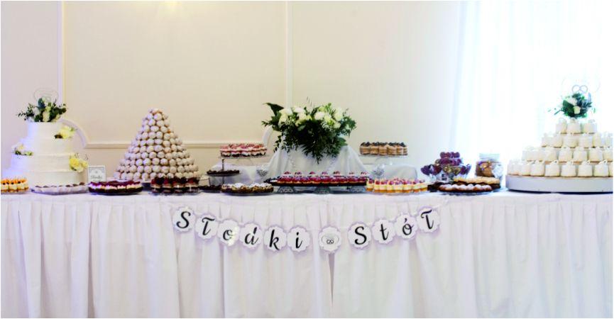 Słodki stół - must have podczas Waszego wesela!